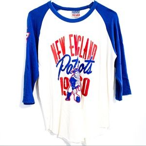 New England Patriots Baseball Tee